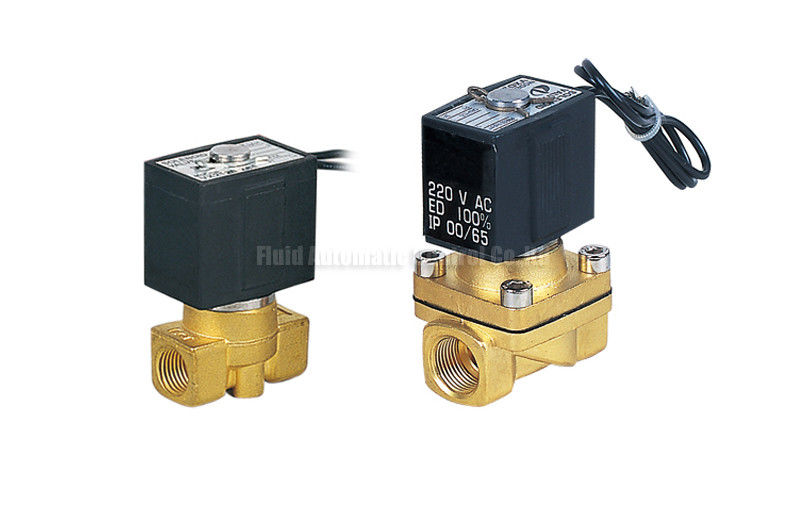 Pneumatic Direct Acting Two Port Solenoid Valve 12 Volt DN15mm