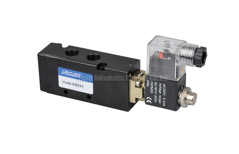Italy Pilot Armature Solenoid Operated Directional Control Valve